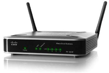 фото Cisco SB RV120W Межсетевой экран (Cisco RV120W-E-G5) Wireless N VPN Firewall
