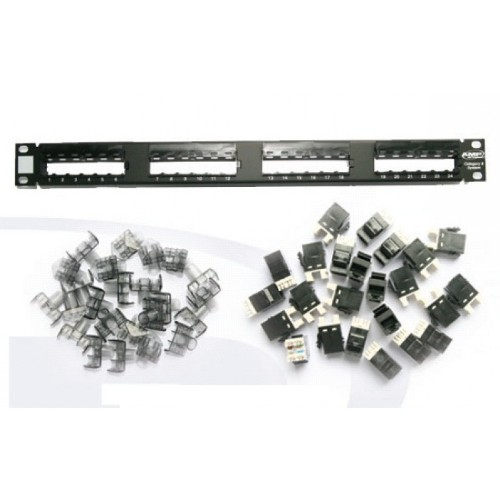 Патч панель AMP 1375014-2 Category 6 Standard SL Series 110 Connect Patch Panel