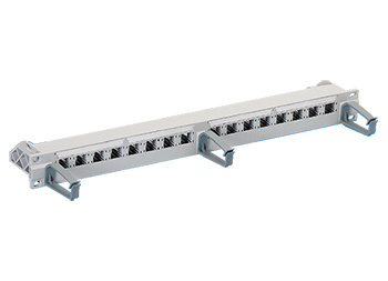 "R&M R305890 19"" 1U 16 Port-Patch Panel-empty/u патч панель"