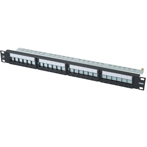 AMP 1711214-2 Патч-панель Telephone , cat 3, RJ45, 19 in, 50-port, black Купить