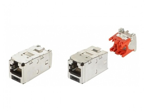 фото Модуль PANDUIT CJS5E88TGY MINICOM, RJ45, FTP, CAT.5E, Купить