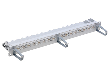 "R&M R305886 19"" 1U Patch Panel-16xRJ45/u, Cat.-5e патч панель"