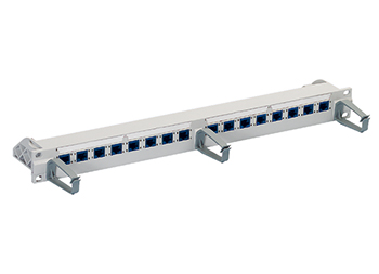 "R&M R305888 19"" 1U Patch Panel, 16xRJ45/u, Cat. 6 патч панель"