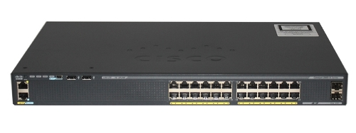 Коммутатор Cisco Catalyst WS-C2960X-24TS-LL 2960-X 24 GigE, 2 x 1G SFP, LAN Lite USED Купить