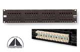 AMP patch panel UTP Cat.6 AMP 0-1375015-2 48 port. 1U, SL 110 1933458-1