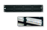 AMP Patch Panel RJ45 кат.5e UTP 48-порт. 1U (AMP 0-0406331-1)