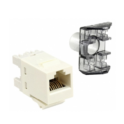 AMP 1-1375055-3 Модуль NETCONNECT® UTP кат.6 RJ45 SL110, white Купить