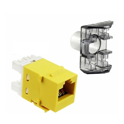 AMP 1375055-8 Модуль NETCONNECT® UTP кат.6 RJ45 SL110, yellow Купить