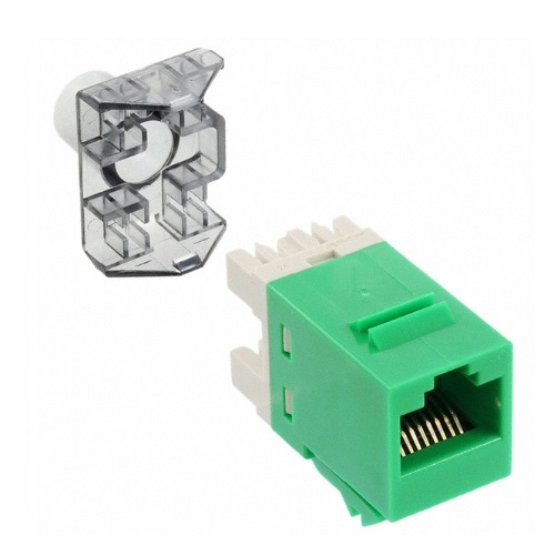 AMP 1375055-9 Модуль NETCONNECT® UTP кат.6 RJ45 SL110, green Купить