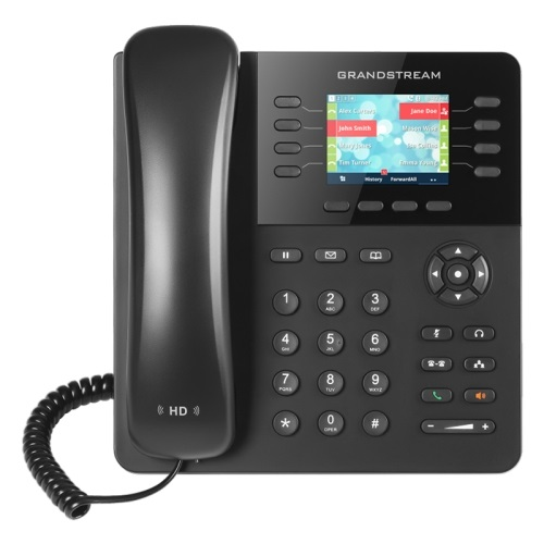 Grandstream GXP2135 IP Phone, dual GigE ports with 802.3af PoE, (with power supply)