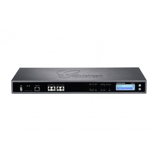 Grandstream UCM6510 IP PBX appliance, 1 E1/T1 port, 2 FXO ports, 2 FXS ports, 2000 SIP endpoint