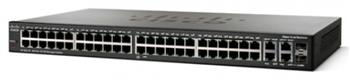 Коммутатор Cisco SB SF300-48 (SRW248G4-K9-EU) 48-port 10/100 Managed Switch with Gigabit Uplinks