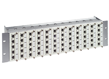 "R&M R302364 19"" 3U Patch Panel 60xRJ45/s, Real10 Cat.6, Купить"