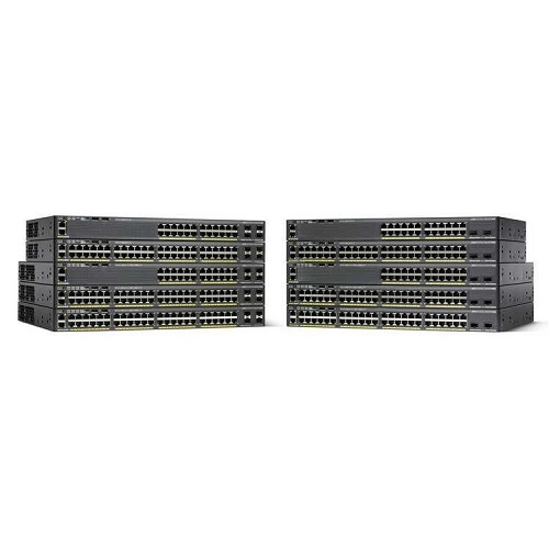 Cisco Catalyst 2960X Коммутатор WS-C2960X-48LPD-L 48 GigE PoE 370W, 2 x 10G SFP+ LAN Base Купить