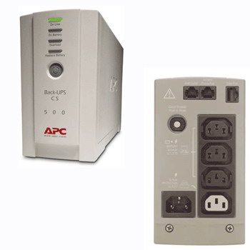 ИБП APC Back-UPS CS 500VA Russian